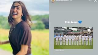 Anushka Sharma's heartfelt congratulations to team India on their victory over England