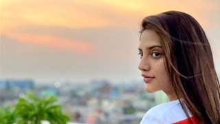 Actor Nusrat Jahan dodges question on the identity of her baby's father