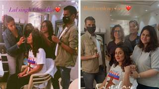 Kareena Kapoor Khan returns to the sets of 'Laal Singh Chaddha'; shares pics