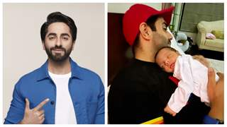 Ayushmann Khurrana reveals niece Arzoie's face as she's sleeping in her father's arms