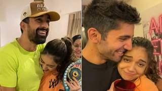 After winning 'Bigg Boss OTT', Divya Agarwal celebrates victory with Rannvijay Singha, Varun Sood & family