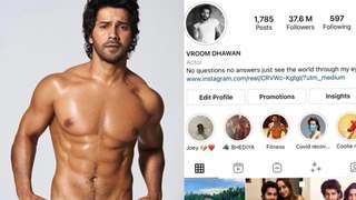 Varun Dhawan changed his Instagram name to Vroom Dhawan, fans wonder why?