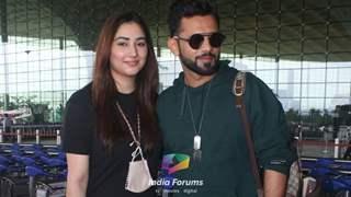 Disha Parmar and Rahul Vaidya head to Maldives for their much awaited honeymoon