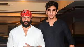 Saif Ali Khan reveals son Ibrahim is assisting Karan Johar on a film
