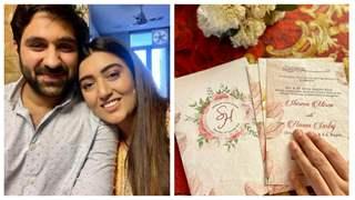 Shireen Mirza & fiance Hasan Sartaj's wedding card out: reveal date