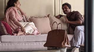 Kangana Ranaut and Nawazuddin Siddique clicked having fun time discussing their upcoming film