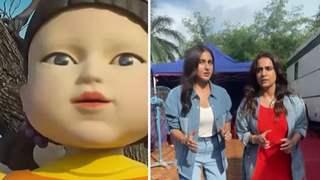 Sara Ali Khan recreates 'Squid Game' scene in a hilarious way with Kusha Kapila