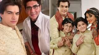 Mohsin Khan bids adieu to Yeh Rishta Kya Kehlata Hai with final photos with cast and crew