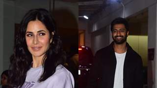 Katrina Kaif was the perfect host at rumoured boyfriend Vicky Kaushal's Sardar Udham Singh's screening