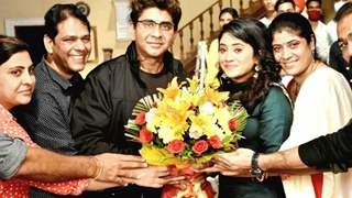 A heartfelt goodbye to Shivangi Joshi by Rajan Shahi & Team