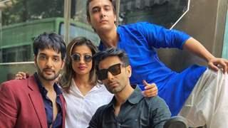 When Abhinav Kapoor and gang from 'Bade Achhe Lagte Hain 2' pranked Utkarsh Gupta by getting fake cops