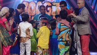 Javed Jaffery celebrated his birthday on Boogie Woogie set