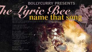 The Lyric Bee: Name That Song!