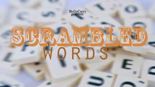 Contest of the Week: Scrambled Words