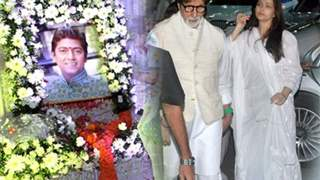 Aishwarya, Amitabh among Bollywood mourners at Aadesh's 'Chautha'