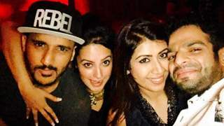Check Out: Glamorous side of YHM team at Karan Patel's Birthday