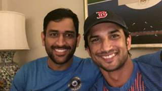 Sushant Singh Rajput celebrates India's victory with Dhoni