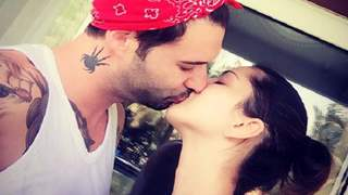 Sunny Leone kisses husband on camera