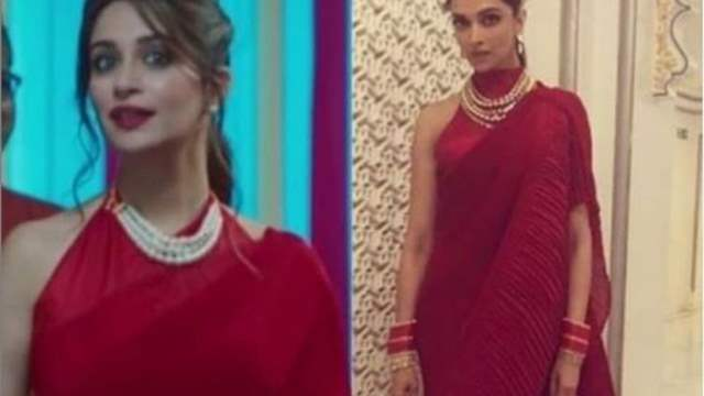 Dipika Kakkar nails Deepika Padukone inspired look in ...