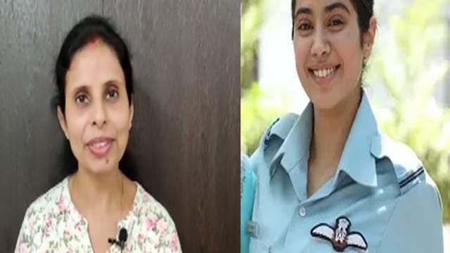 Real Life Gunjan Saxena Posts A Video Surrounding The Film India Forums