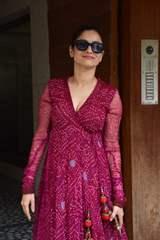 Ankita Lokhande snapped at filmmaker Kamal Jain's office in Juhu