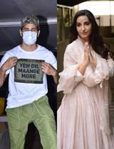 Bollywood celebrities snapped around the town