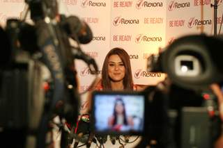 Preity Zinta launches new Rexona deodorant in Mumbai