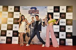 Tiger, Ananya, Tara at the trailer launch of Student of the Year 2