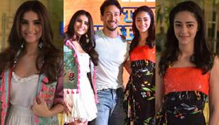 SOTY 2 Star Cast promoting the film in Delhi