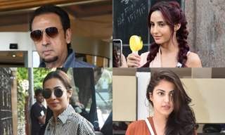 Bollywood celebrities snapped around Mumbai!
