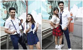 Abhishek Bajaj organizes a 'student themed' photo session for his debut movie