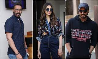 Bollywood stars at the promotions of upcoming movies