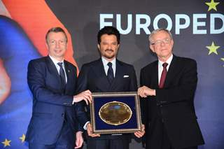 Anil Kapoor felicitated by Council of European Chambers of Commerce in India and European Union Mumbai