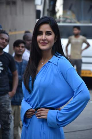 Katrina Kaif and Salman Khan at the promotions of Bharat