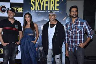 Celebrities at the screening of upcoming web series Skyfire