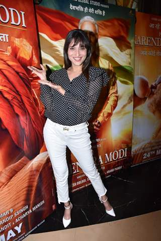 Celebrities at the special screening of PM Narendra Modi