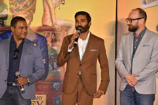 Celebrities snapped at the trailer launch of The Extraordinary Journey of the Fakir