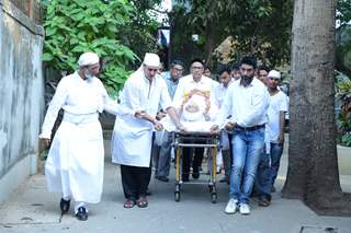 Dinyar Contractor Funeral Pictures