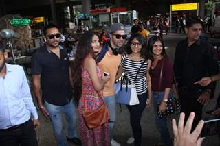 Bollywood Celebrities snapped at the airport