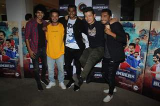 Celebrities at the promotions of Zee 5 Bombers!