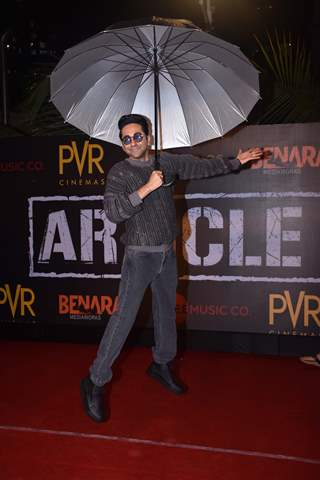 Celebrities attend the special screening of Article 15