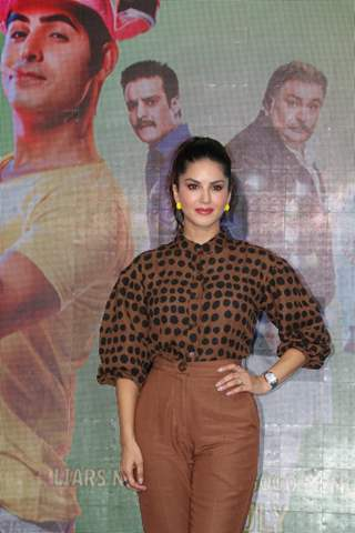 Sunny Leone at the promotions of Jhootha Kahin Ka!