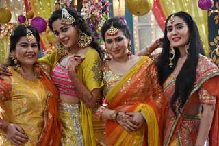 Kunal and Kuhu Haldi Ceremony Pictures from Yeh Rishtey Hai Pyaar Ke
