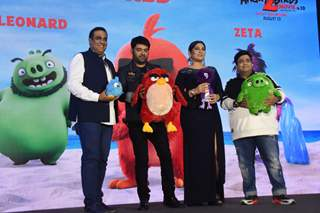 Celebrities were snapped at the Angry Birds Press Meet!