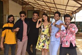 Chhichhore cast goes Goofy at the promotions of the upcoming film!