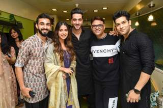 Sandiip Sikcand's annual Ganpati dinner with Television celebrities