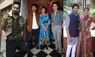 Celebrities snapped during the promotions of their upcoming movies and web series