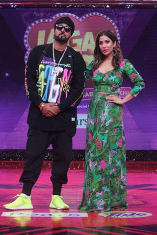 Celebrity guests on the sets of Lagao Boli which airs on ZEE TV, &TV and Big Magic.