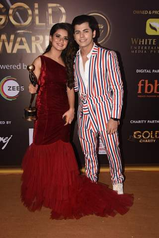 Celebrities attend the 12th Gold Award!