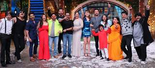 The cast of Pagal Panti on the sets of The Kapil Sharma Show!